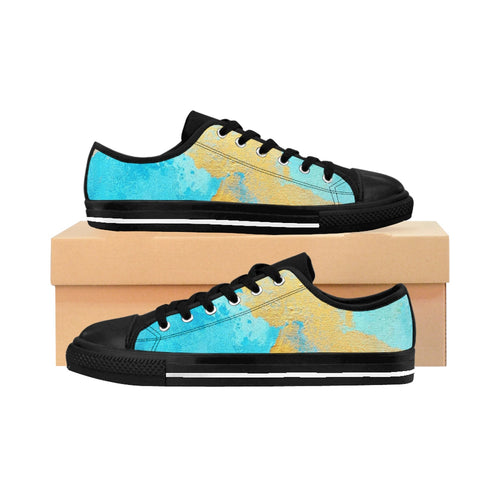 Women's Azure Gold Sneakers