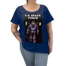 Load image into Gallery viewer, Women's Plus Size Space Force T-shirt