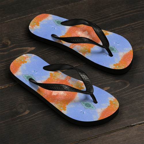 Unisex Alien Surface Flip-Flops