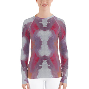 Women's Cotton Candy Nebula Rash Guard