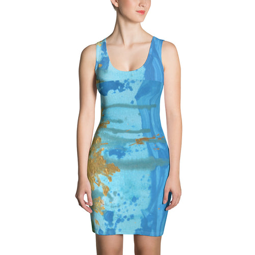 Sun Splash Cut and Sew Dress