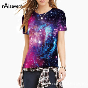 Women's Space Galaxy Tees
