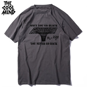 Men's Once You Go Black COOLMIND T-shirt