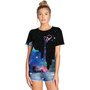 Unisex 3D Poured Galaxy Tee