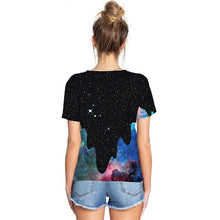 Load image into Gallery viewer, Unisex 3D Poured Galaxy Tee