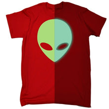 Load image into Gallery viewer, Men's Glow In The Dark Martian Head Tee