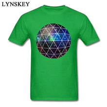 Load image into Gallery viewer, Geodesic Nebula Design T-Shirt