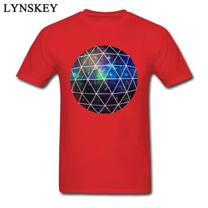 Geodesic Nebula Design T-Shirt
