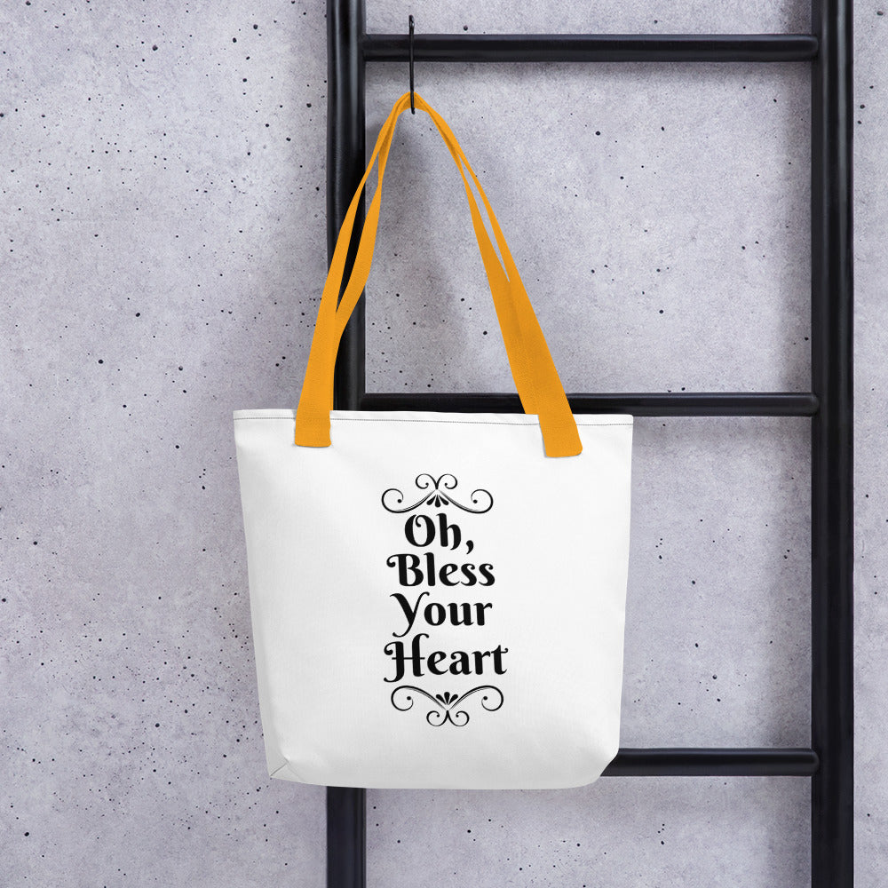 Oh, Bless Your Heart Tote bag