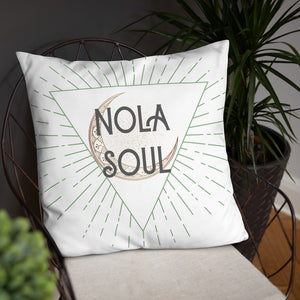NOLA Soul throw pillow