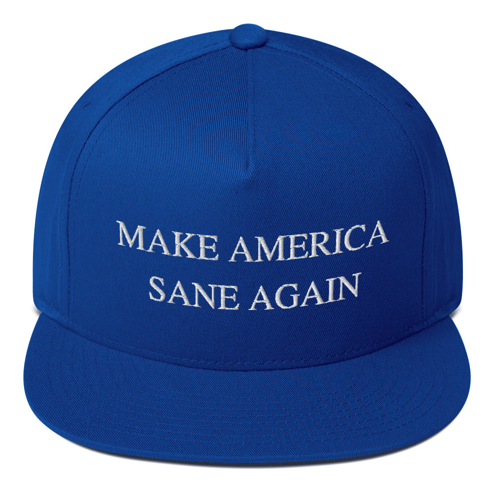 MAKE AMERICA GREAT AGAIN Flat Bill Cap