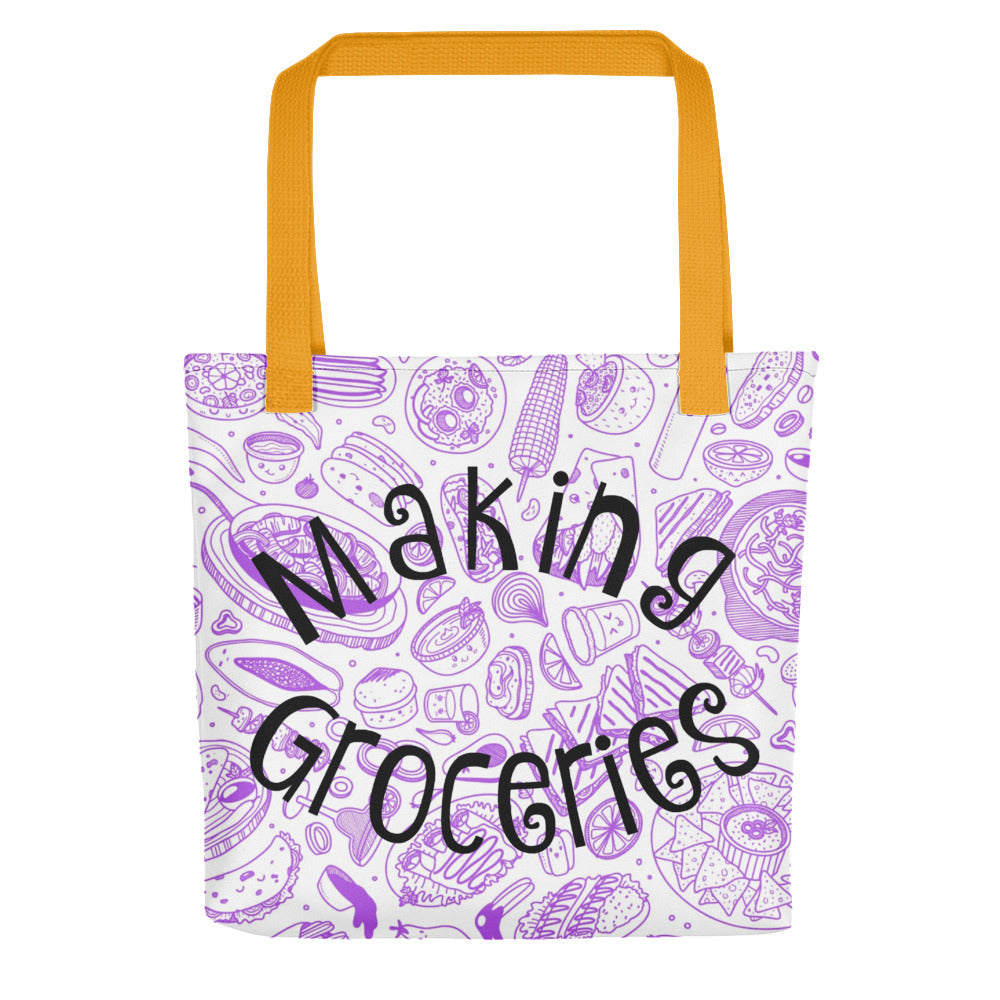 Making Groceries Tote bag