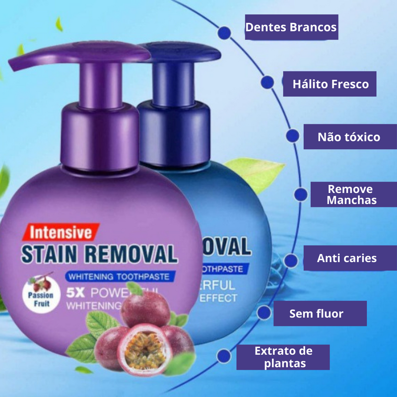 Creme dental clareador - Stain Removal™
