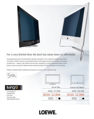 Loewe Connect and Art TVs