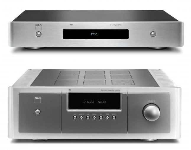 NAD M51 DAC and M3 amplifier