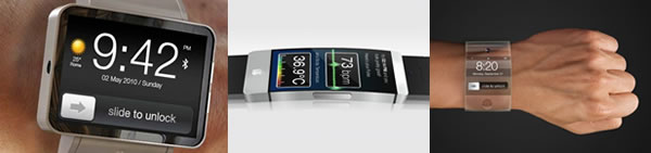 Apple iWatch Concept Designs