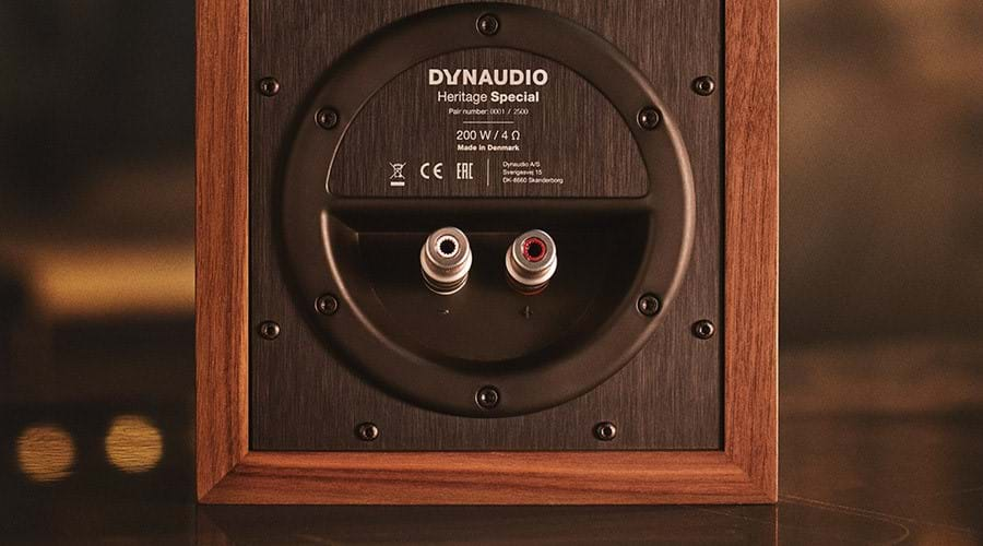 Dynaudio Heritage Special backplate