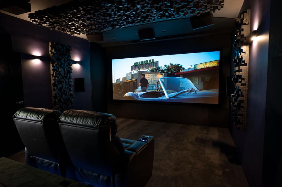 home cinema demo room