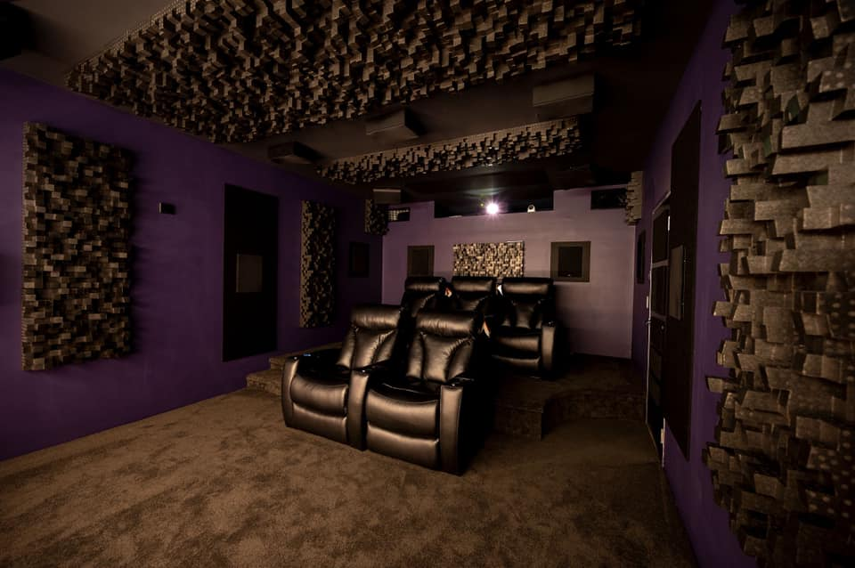 Row One home theatre seating