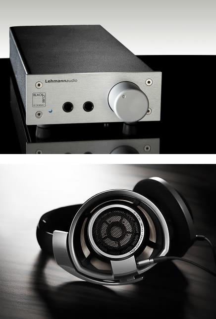 Sennheiser HD800 & Lehmann Audio Black Cube Linear Headphone Amp