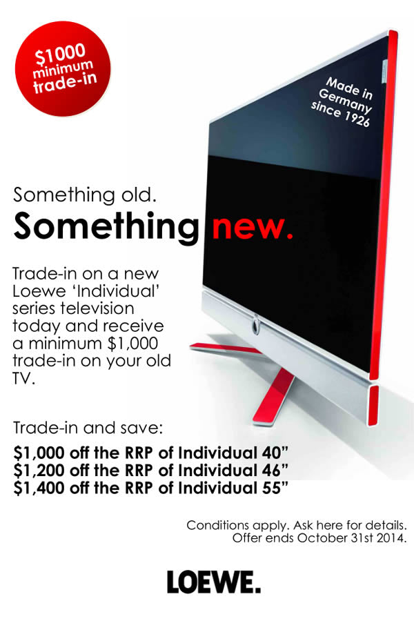 Loewe trade-in special