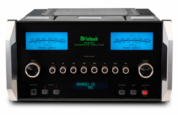 McIntosh MA-8000 Integrated Amplifier