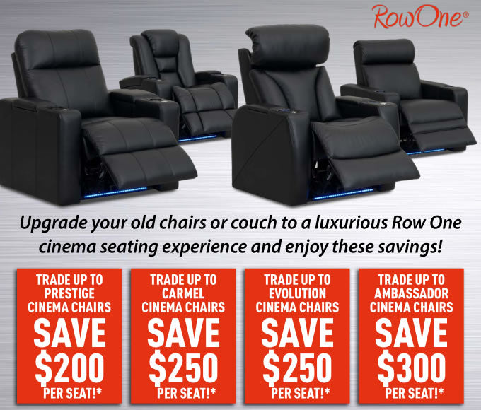 Row One seating sale in Brisbane