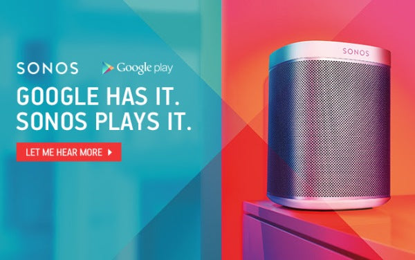 Sonos with free google play