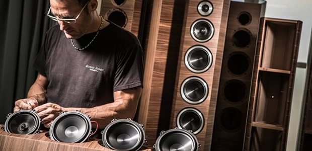 Sonus faber speakers being made