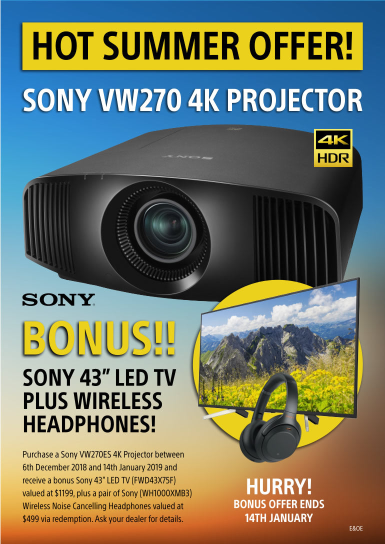 Sony VW-270 Projector