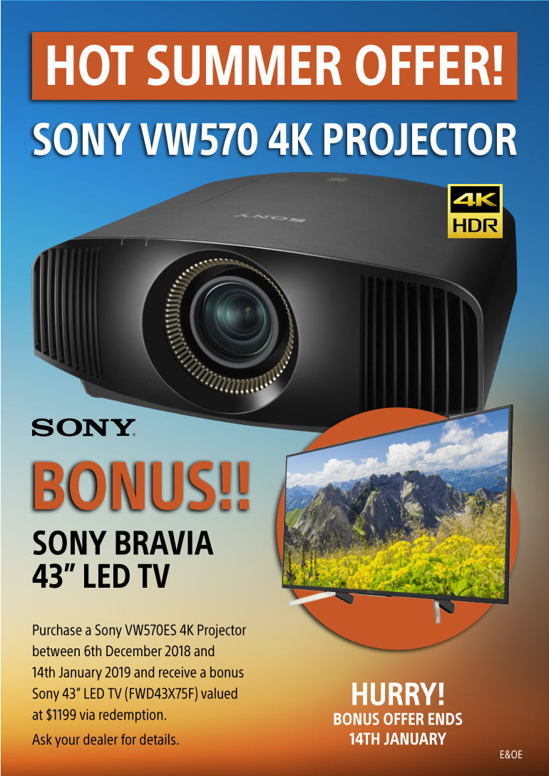 Sony vw-570 projector