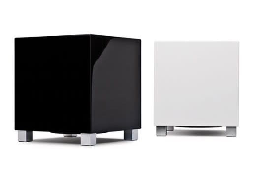 REL t zero subwoofer black and white