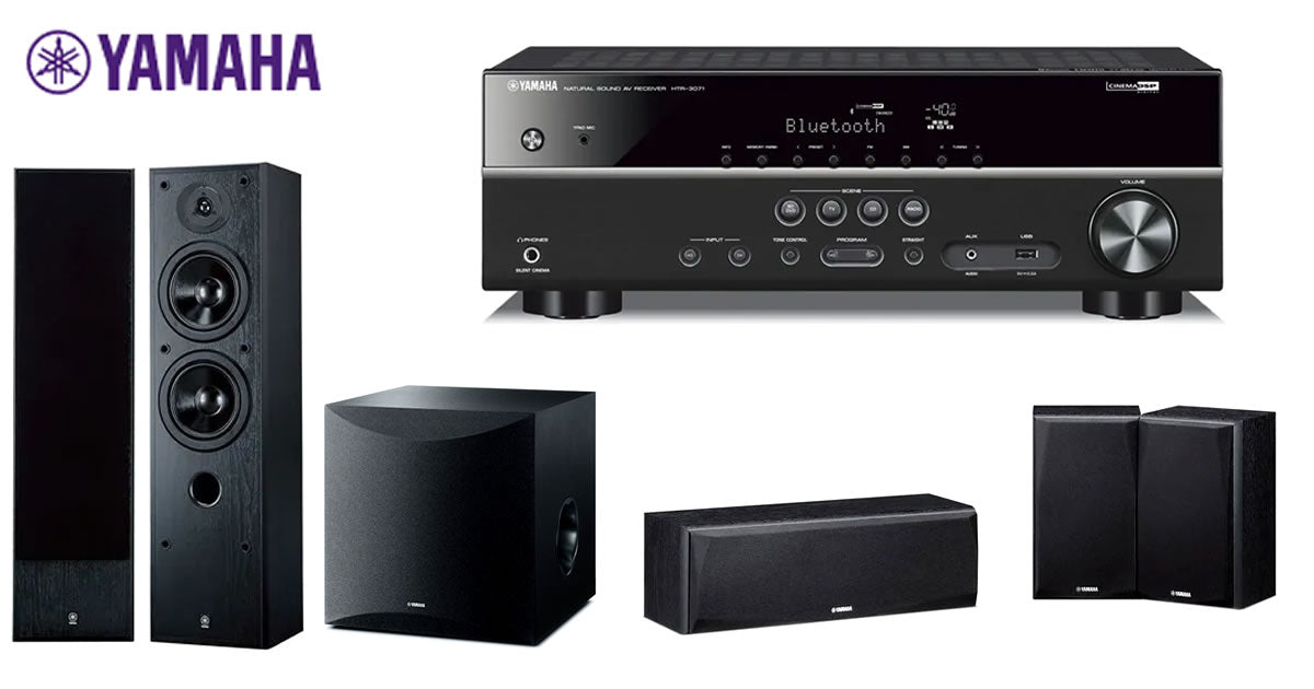 yamaha home theatre pack