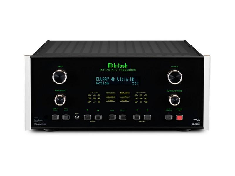 McIntosh MX170 Control Centre
