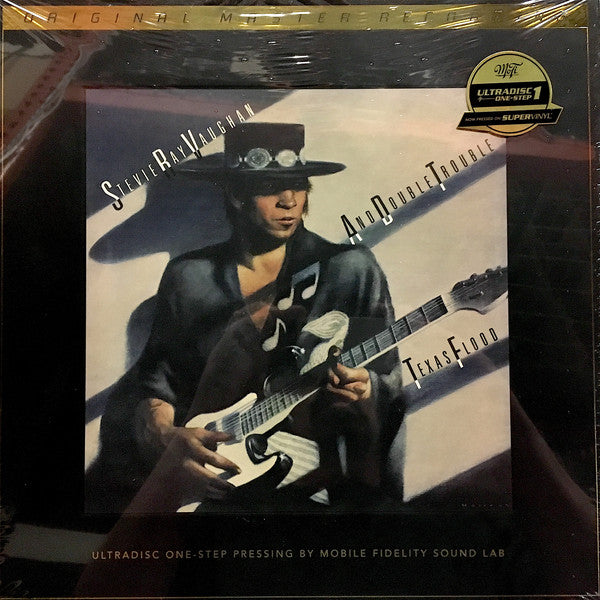 Mobile Fidelity Stevie Ray Vaughn One Step Pressing – Double Trouble Texas Flood Vinyl