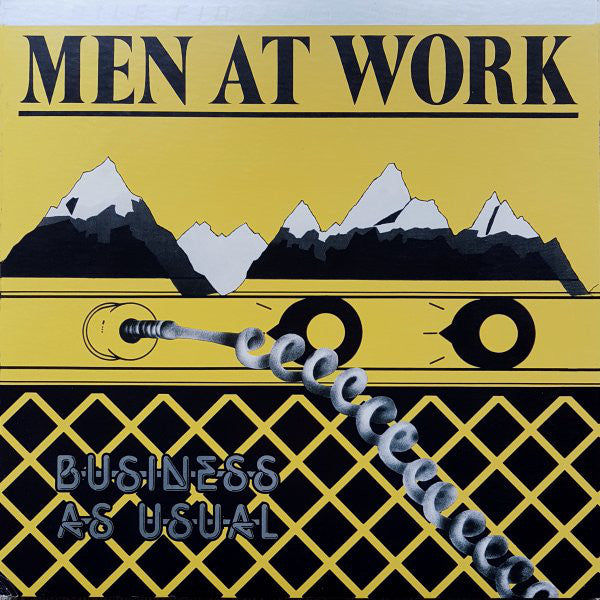 Mobile Fidelity Men At Work – Business as Usual Vinyl