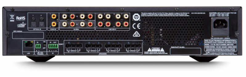 NAD CI 8-150 DSP Multi-Channel Amplifier