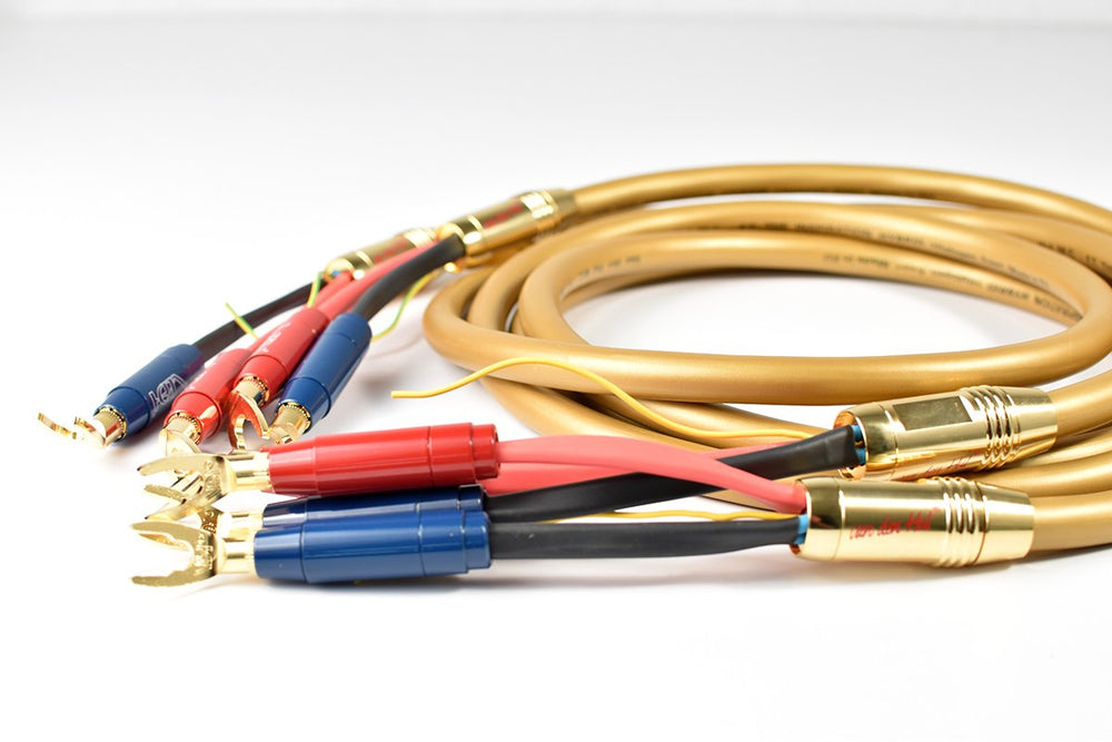 VDH Inspiration Hybrid High Quality Four-Lead Loudspeaker Cable
