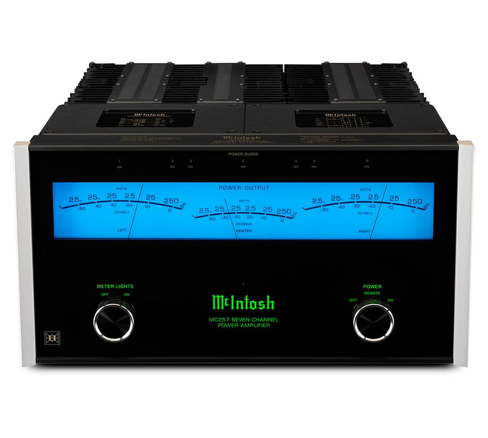 McIntosh MC257 7-channel Theatre Power Amplifier