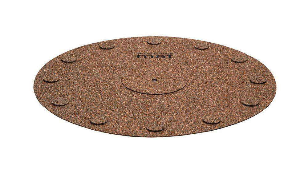 Music Hall Cork Mat With 12 Isolation Discs