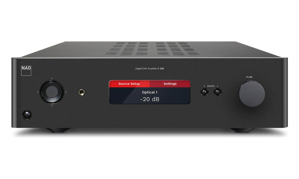 NAD C 388 + BluOs 2 Integrated Amplifier Kit