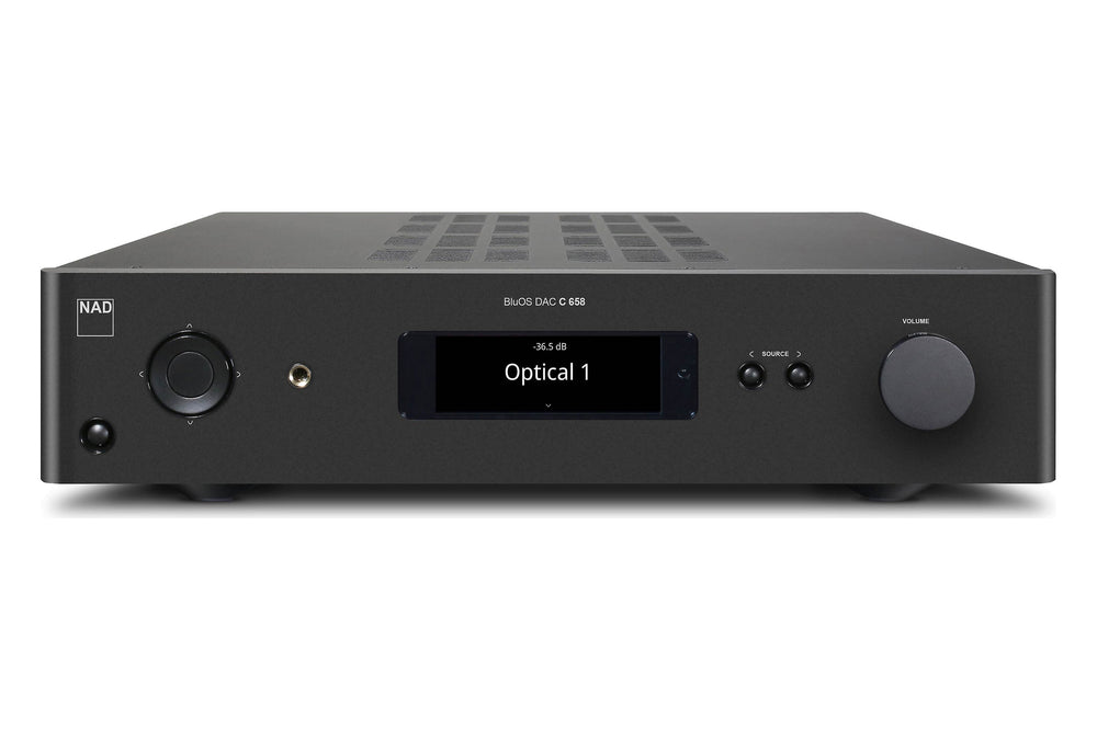NAD C 658 BluOS Streaming DAC