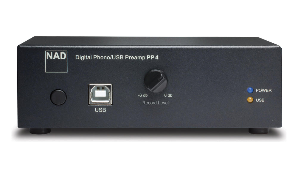 NAD PP4 Phono Preamplifier With USB Output
