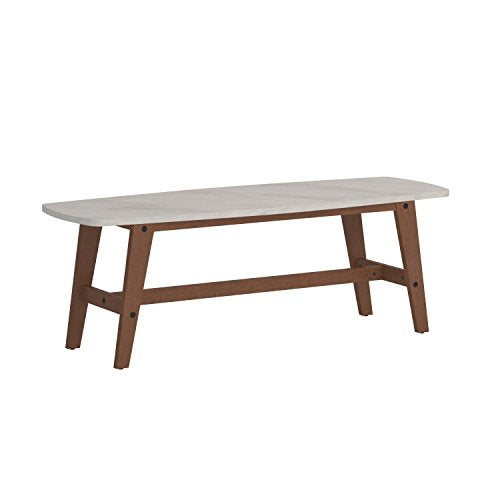 Awe Inspiring Sauder Soft Modern Cocktail Coffee Table In Fine Walnut Finish Home Interior And Landscaping Mentranervesignezvosmurscom