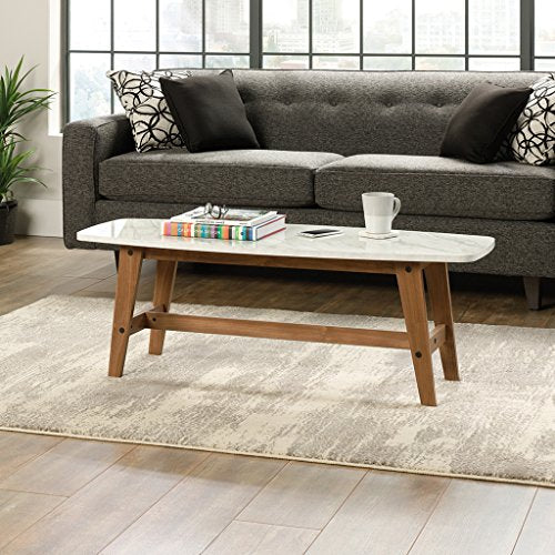 Remarkable Sauder Soft Modern Cocktail Coffee Table In Fine Walnut Finish Home Interior And Landscaping Mentranervesignezvosmurscom