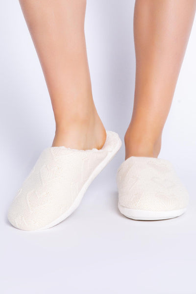 SLIPPER CABLE LOVE (4881932484708)