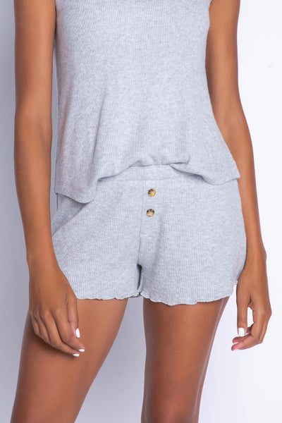 Heather Grey Shorts (4876483330148)