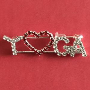 Yoga Heart Pin