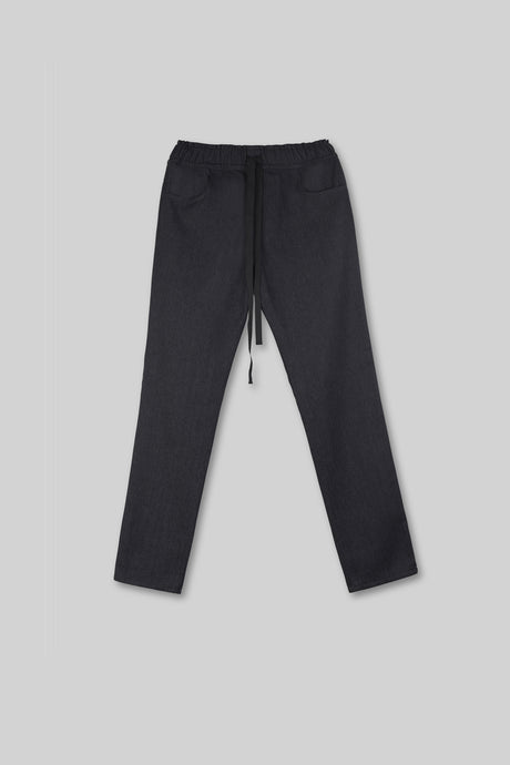 Denim Jogger - Black