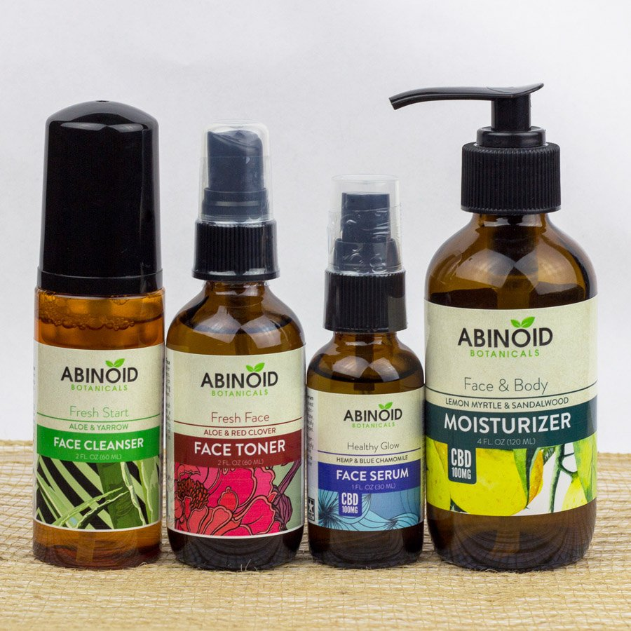 CBD Skin Care Kit | Abinoid Botanicals